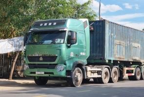 Quảng Nam chỉ đạo thanh tra xử lý xe container hoán cải chở cát ướt