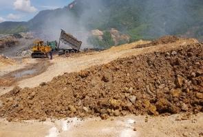 Ô nhiễm tại bãi thải mỏ than Nông Sơn: Sở TN&MT tỉnh Quảng Nam báo cáo gì?