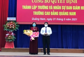 Công bố quyết định thành lập Trường Cao đẳng Quảng Nam