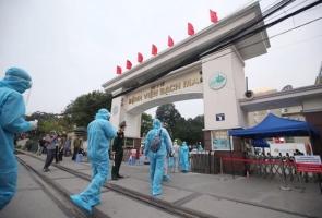 Toàn bộ nhân viên y tế Bệnh viện Bạch Mai âm tính với SARS-COV-2