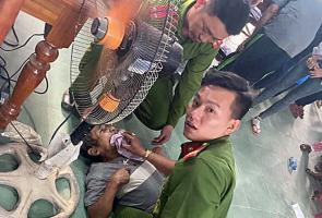BẮC TRÀ MY- Tổ cấp CCCD sơ, cấp cứu kịp thời một người dân bị động kinh