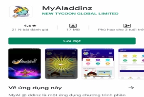 Công an đề nghị người dân cảnh giác khi tham gia Myaladdinz