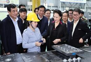 Chủ tịch Quốc hội Nguyễn Thị Kim Ngân thăm và làm việc tại tỉnh Quảng Nam