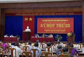 Bế mạc Kỳ họp thứ 22, HĐND tỉnh (khóa IX): Thông qua 17 nghị quyết
