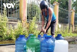 NAM GIANG- Khát nước sinh hoạt
