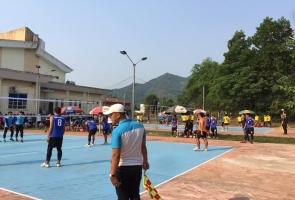 Nông Sơn- Khởi tranh giải bóng chuyền