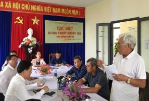 Phú Ninh- Tọa đàm về giá trị lịch sử địa điểm Suối Đá