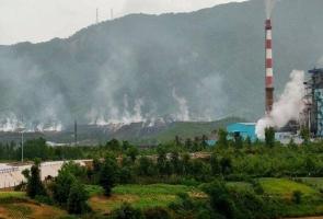 Nguyên nhân cháy ở bãi thải mỏ than Nông Sơn là do nội sinh sau cơn mưa