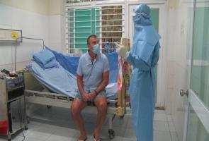 Bệnh nhân người Anh số 57 có kết quả xét nghiệm âm tính lần 1
