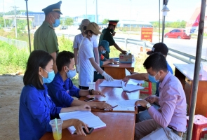 Phú Ninh, Duy Xuyên đưa vào hoạt động các chốt kiểm soát dịch