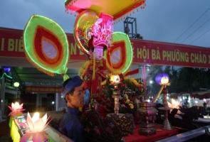 ĐẠI LỘC- đón Bằng công nhận Di sản văn hóa phi vật thể quốc gia Lễ hội Bà Phường Chào