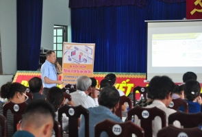 DUY XUYÊN- Triển khai thí điểm Hệ sinh thái hành chính công tại thị trấn Nam Phước