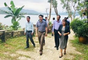 Xem xét giãn tiến độ dự án Khu du lịch đồi Đá Đen - hồ Phú Ninh