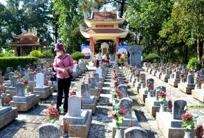Nâng cấp Khu mộ liệt sĩ Quảng Nam - Đà Nẵng tại Nghĩa trang liệt sĩ Trường Sơn