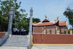 """Di tích Bàu Sen - Lăng Bà Viêm Minh đón nhận bằng xếp hạng di tích lịch sử cấp tỉnh: """"Địa chỉ đỏ"""" lưu ký ức một thời"""