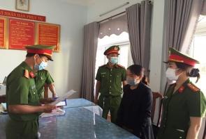 TIÊN PHƯỚC- Bắt tạm giam nữ cán bộ xã lừa đảo hơn 5 tỷ đồng
