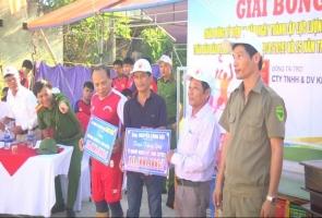 Thị trấn Nam Phước tổ chức giải bóng chuyền chào mừng kỷ niệm 74 năm Ngày thành lập Công an Nhân dân