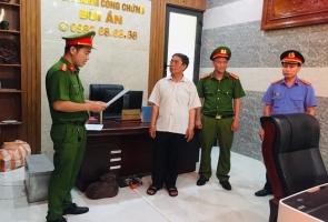 ĐIỆN BÀN- Trưởng văn phòng công chứng bị bắt vì liên quan đến đất đai