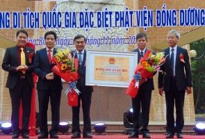 Thăng Bình- Phật viện Đồng Dương được công nhận Di tích quốc gia đặc biệt