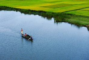 Tam Kỳ- Một sớm thong dong sông Đầm