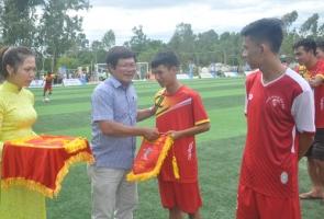 Khai mạc giải Bóng đá thanh niên 11 người TP.Tam Kỳ 2019