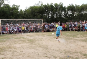 Đội bóng xã Tam Đàn vô địch Giải bóng đá nam huyện Phú Ninh