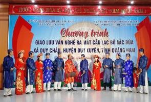 Duy Xuyên- Trình diễn nghệ thuật hát sắc bùa
