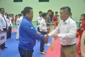 Khởi tranh giải vô địch Teakwondo các nhóm tuổi