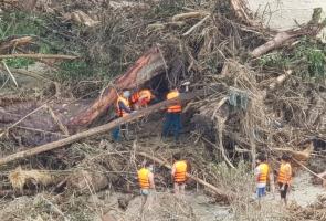 Bắc Trà My- Phát hiện bộ xương người, nghi là nạn nhân trong vụ sạt lở núi