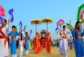 NÔNG SƠN- Lễ công bố quyết định và đón nhận bằng Di sản văn hóa phi vật thể Lễ hội Bà Thu Bồn tại Quảng Nam