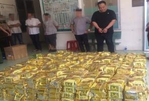 TPHCM- Đại án ma túy: 1,1 tấn