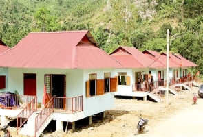 39 hộ dân vùng sạt lở Trà Leng đón nhà mới