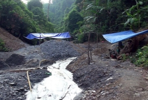 Nam Giang- Giải cứu 11 phu vàng bị các đối tượng bắt giữ trái phép