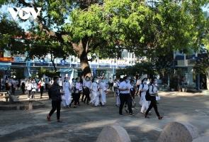 Cho học sinh vùng giáp ranh Đà Nẵng và Quảng Ngãi nghỉ học từ ngày 7-5