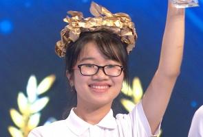 Nữ sinh xứ Quảng về nhất cuộc thi tuần Đường lên đỉnh Olympia