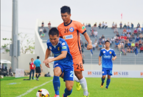 Quảng Nam thua thảm trong trận derby xứ Quảng