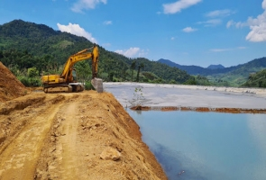 """Công ty Vàng Phước Sơn """"đứt cáp quan trắc nước thải""""?"""