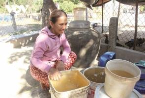 NÚI THÀNH- Công trình nước sạch tiền tỷ bị bỏ hoang, dân thiếu nước sinh hoạt