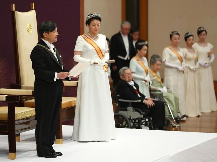 Nhật Bản mừng vương triều mới