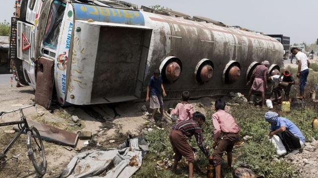 Niger- Xe bồn chở xăng nổ tung, ít nhất 55 người thiệt mạng